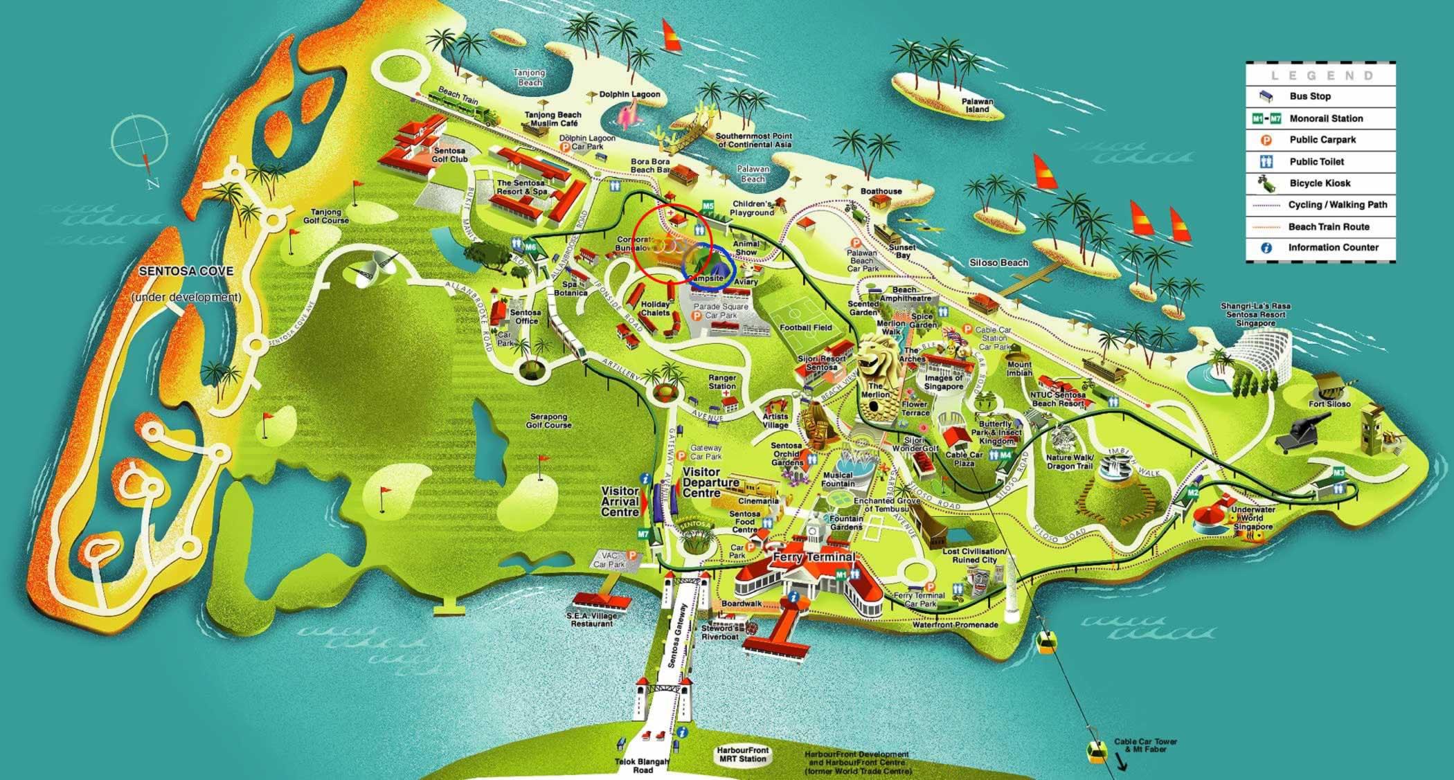 Sentosa casino map gumiabroncs Gallery